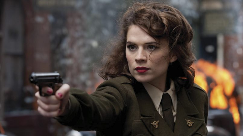 Kadr z serialu Agentka Carter, 2015.