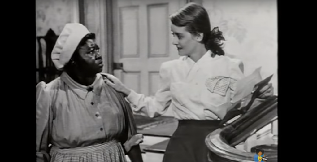 Kadr zfilmu <em>Black Hollywood</em>, 1984.