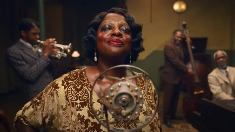 Kadr zfilmu <em>Ma Rainey: Matka bluesa</em>, reż. George C. Wolfe, 2020.
