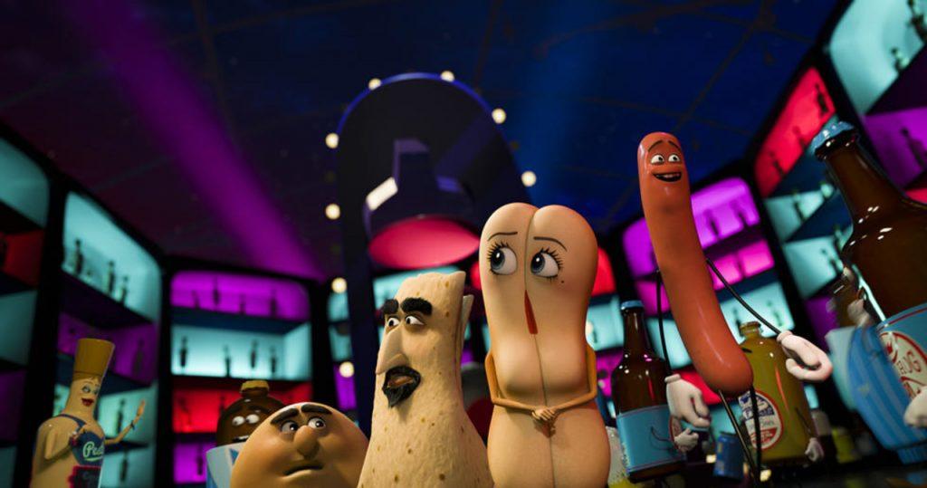 Kadr zfilmu <em>Sausage Party</em>, reż. Conrad Vernon, Greg Tiernan, 2016.