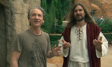 Kadr zfilmu <em>Religulous</em>, reż. Larry Charles, 2008.