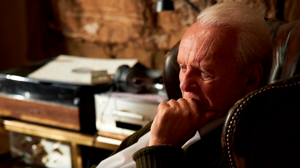 Kadr zfilmu <em>Ojciec</em>, reż. Florian Zeller, 2020