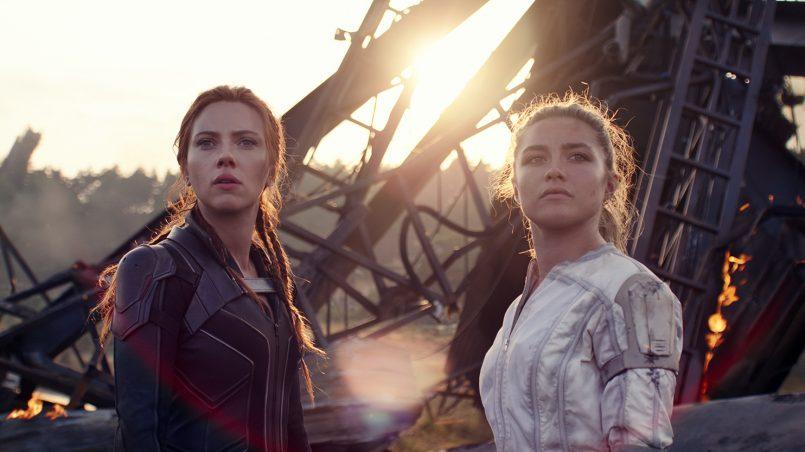 Kadr z filmu Czarna Wdowa, reż. Cate Shortland, 2021.