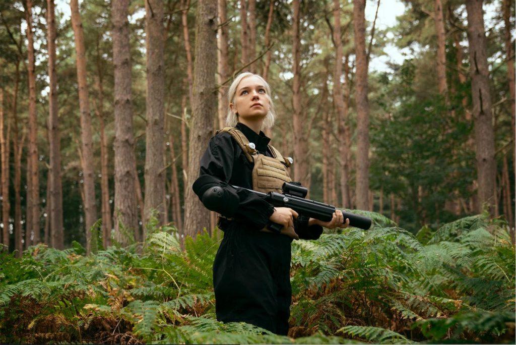 Kadr zserialu <em>Hanna</em>, 2020.