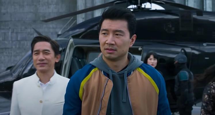 Kadr zfilmu <em>Shang-Chi iLegenda Dziesięciu Pierścieni</em>, reż. Destin Daniel Cretton, 2021.